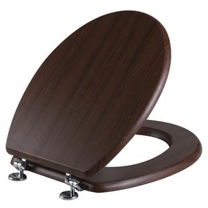 05943 DESKA WC SEDESOWA MDF DARK BROWN /DREWNIANA