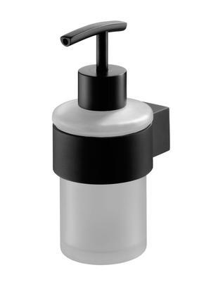 02953 Futura black dozownik mydła
