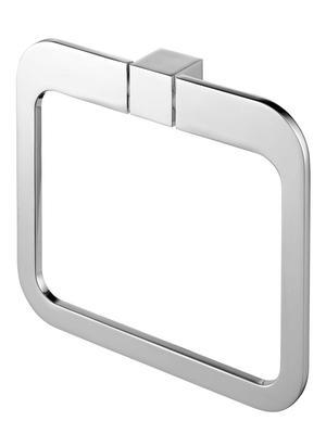 02996 Wieszak Owalny Futura silver