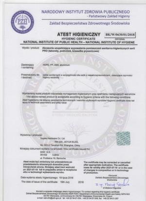 07658 TABORET HIGIENICZNY Z OPARCIEM WYCIĘCIE PRO _2