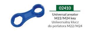 02410 UNIWERSALNY KLUCZ DO PERLATORA M24/M22