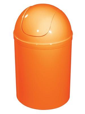02883 Kosz na śmieci 5 l. plastikowy pomarańczowy