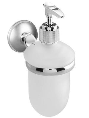 71775 Dakota dozownik do mydła (wkład szklany) chrom/satyna