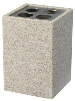 01595 pojemnik na szczoteczki z serii Sand